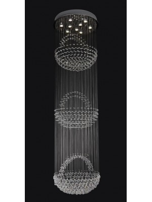 LED Chandelier Diamond Full Lead Crystal  'Brianna'