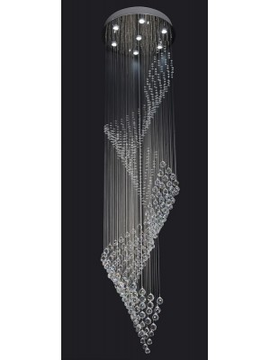 LED Chandelier Diamond Full Lead Crystal  'Bristol'