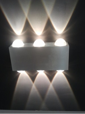 LED Indoor/Outdoor Wall Light 'Dorothy' Triple