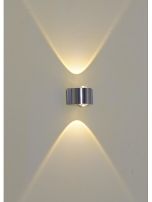 LED Indoor/Outdoor Wall Light 'Darcey' Single