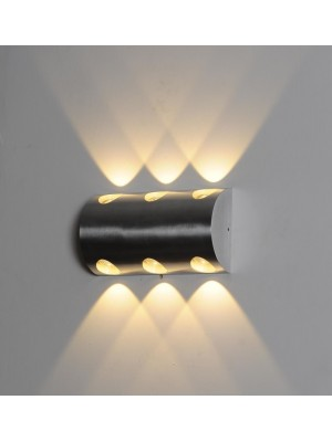 LED Indoor/Outdoor Wall Light 'Demetria'