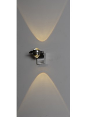 LED Indoor/Outdoor Wall Light 'Debora'