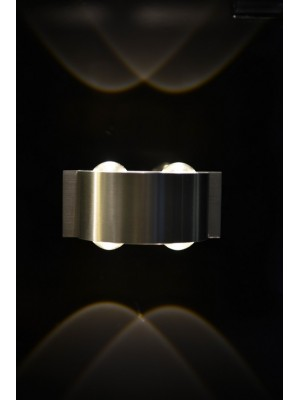 LED Indoor/Outdoor Wall Light 'Dior' Double