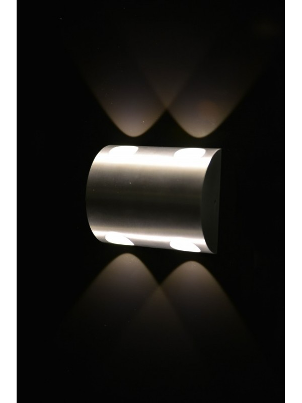 LED Indoor/Outdoor Wall Light 'Denise' Double