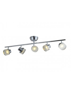 LED Pendant Light Five Head Straight Droplight Flying Saucer 'Alena'