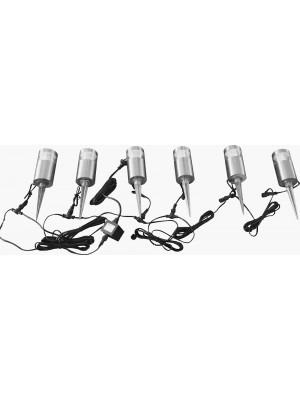 LED Garden Lights 'Felicity' Six Pack