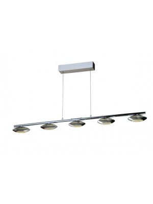 LED Pendant Light Five Head Straight Droplight Flying Saucer 'Annalina'