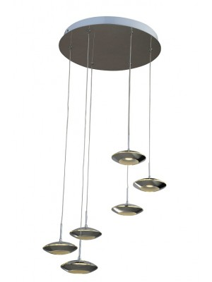 LED Pendant Light Six Head Hang Droplight UFO line 'Anora'