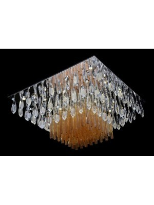 LED Diamond Full Lead Crystal Ceiling Light 'Catarina'