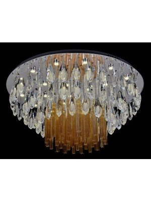 LED Diamond Full Lead Crystal Ceiling Light 'Catherine'