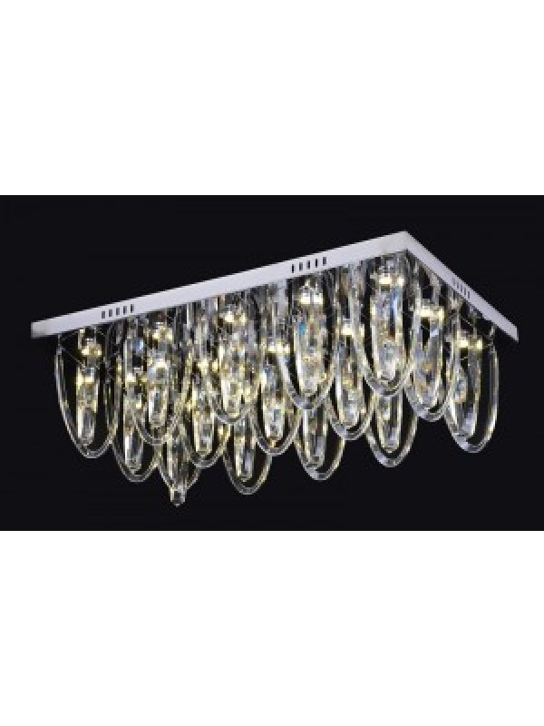 LED Diamond Full Lead Crystal Ceiling Light 'Cassie'