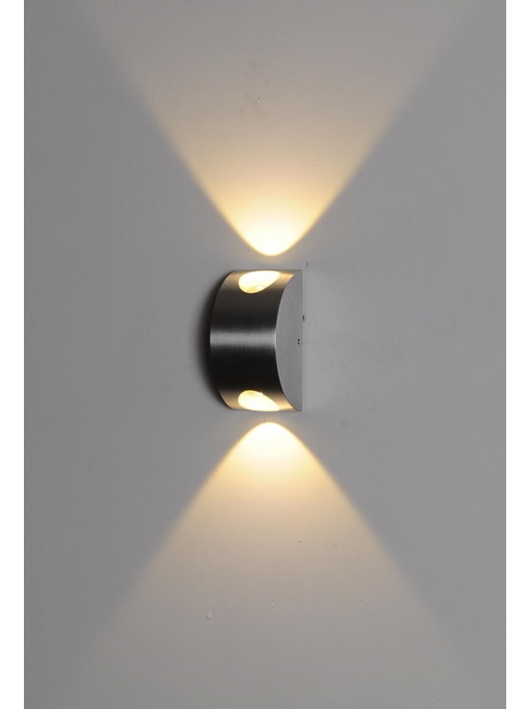 LED Indoor/Outdoor Wall Light 'Destiny' Single