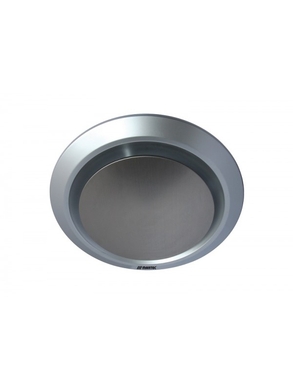 Martec Gyro Light Round 250mm Exhaust Fan Silver 'Ovia'
