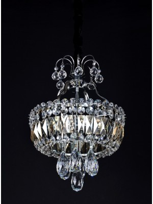 LED Diamond Full Lead Crystal Pendant Light 'Arlene'