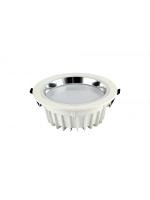 LED Shop Fitting Small Round Down Light 'Gabby' 22w