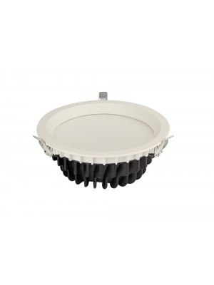 LED Shop Fitting Large Round Down Light 'Gabriela' 38w