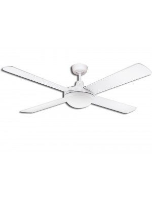 Martec Lifestyle 1300mm - 4 Blade White With Light 2 x E27 'Oceana'