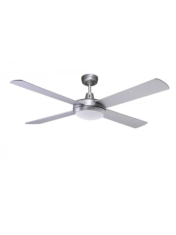 Martec Lifestyle 1300mm Fan Brushed Aluminium with Light 24w 5000k LED Dimmable 'Odette'